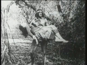 A scene from Tarzan of the Apes